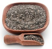 Organischer Chia Seed stockfotografie