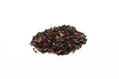 Organischer Riceberry-Reis (schwarzer Jasminreis) Lizenzfreie Stockfotografie