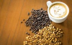 Organisches Arabica Kaffee des thailändischen Elefantscheißekaffees lizenzfreie stockfotos