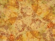 Organisches Beschaffenheit Grunge Gelb Lizenzfreies Stockbild