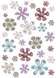Organisches Blumen vektor abbildung