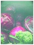 Organisches Erzeugnis im Nebel lizenzfreies stockfoto