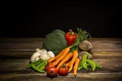 Organisches Gemüse Lizenzfreies Stockfoto