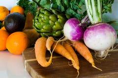 Organisches Gemüse lizenzfreie stockfotos