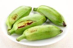 Organisches Grün, das Bananen kocht Lizenzfreie Stockbilder