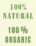 Organisches Naturdesign Lizenzfreies Stockbild
