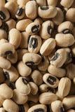 Organisches trockenes Black Eyed Peas Lizenzfreie Stockfotografie