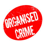 Organised Crime rubber stamp Stock Photography