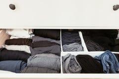 Organised drawer Stock Photos