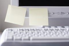 Organisierter Arbeits-Platz Lizenzfreie Stockbilder