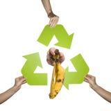 organisk avfalls Royaltyfri Fotografi
