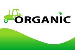 organisk bakgrundsdesign Royaltyfria Bilder