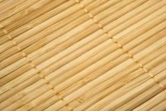 Organisk bordduk Textur av bambuservettbakgrund, bästa sikt arkivbild