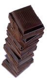 organisk choklad Royaltyfria Foton