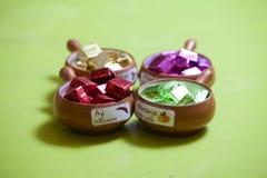 organisk choklad Fotografering för Bildbyråer