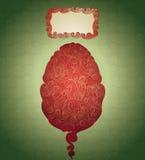 Organisk easter design Royaltyfria Bilder