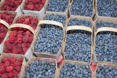 Organisk frukt och grönsak: mjuk frukt Arkivfoto