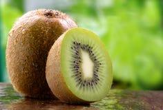organisk fruktkiwi Royaltyfri Fotografi