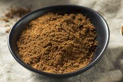 Organisk Garam Masala indisk krydda royaltyfri foto