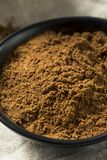 Organisk Garam Masala indisk krydda royaltyfria bilder