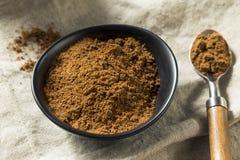 Organisk Garam Masala indisk krydda arkivbild
