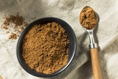 Organisk Garam Masala indisk krydda arkivfoton