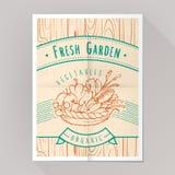 Organisk grönsakaffisch Royaltyfri Fotografi