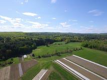 Organisk lantgård New England arkivbilder