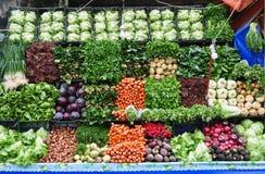 organisk marknad Fotografering för Bildbyråer