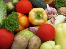 Organisk mat Arkivbild