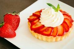 Organisk sund fruktefterrätt Fotografering för Bildbyråer