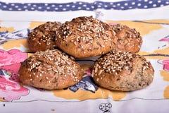 organisk wholemeal för bröd Royaltyfria Foton