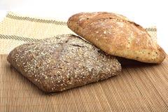 organisk wholemeal för bröd Royaltyfri Foto