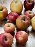 organiska äpplen Royaltyfria Foton