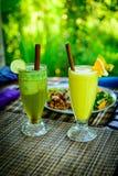 Organiska drinkar Arkivfoton