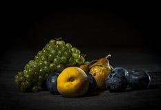 Organiska frukter Arkivfoton