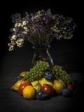 Organiska frukter och grönsaker Fotografering för Bildbyråer