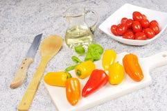 organiska grönsaker Arkivbild