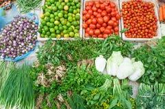 Organiska nya grönsaker Arkivbilder