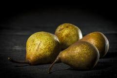 Organiska pears Fotografering för Bildbyråer