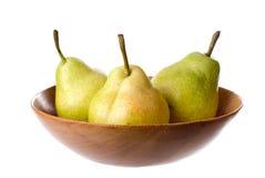organiska pears Royaltyfria Bilder