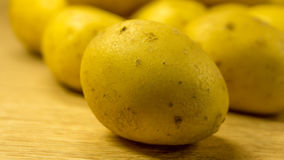 organiska potatisar arkivfoto