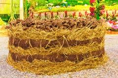organiska rich för komposttäckning Royaltyfri Fotografi