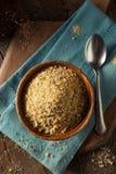 Organiska smulor för hemlagat bröd Royaltyfri Foto