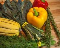 organiska veggies Royaltyfri Bild