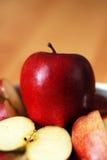 organiskt äpple arkivfoton