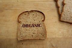 organiskt bröd Arkivfoton