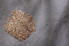 Organiskt chiafr? - Salvia hispanica Utrymme f?r text arkivbild