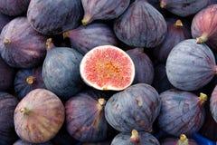organiskt smakligt för figs Fotografering för Bildbyråer