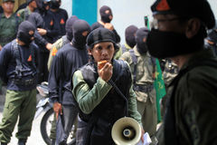 Organismes islamiques Photo libre de droits